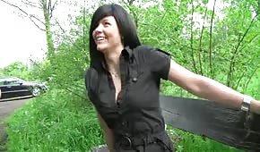 W parku dała dupy