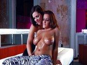 Lesbijskie porno Natasha Nice i Bobbi Starr