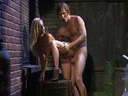 Porno w bocznej uliczce