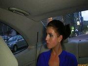 Ostry seks w taksówce