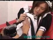 Japanese maid sex