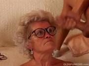 Granny cum spectacles
