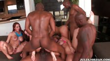 Orgia z czarnymi gangsterami