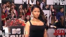 Nicki Minaj twerkuje dupskiem w różnych scenach